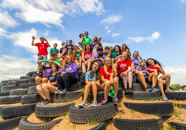Step up - CISV educational summer camps for 14-15 year olds
